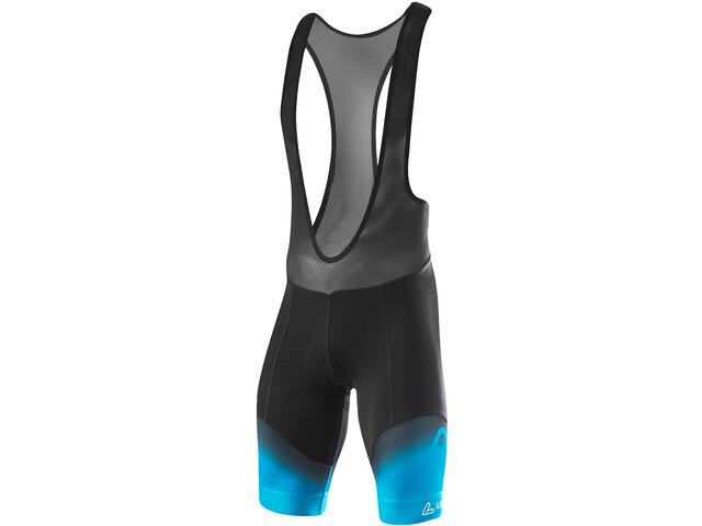 Löffler Evo Shorts de cyclisme Homme, black/brilliant blue